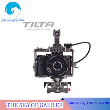 Tilta A7 Rig A7S2 A7R A7R2 Rig Cage Baseplate Top Handle For SONY A7 series camera Film shooting/free shipping