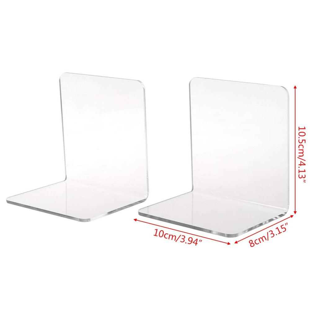 High Quality <strong>Acrylic</strong> Maul Bookends,Customizable Size