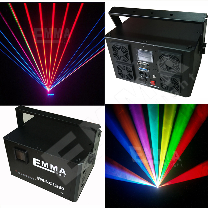 Laser display Projector Stage Lights LED rgb Lighting Xmas big Party DJ Disco KTV karaoke system