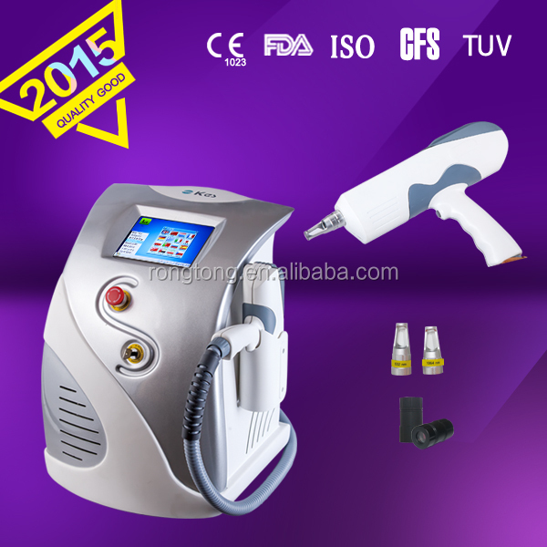 1320nm carbon tip Personal care machine tattoo removal nd yag long pulse