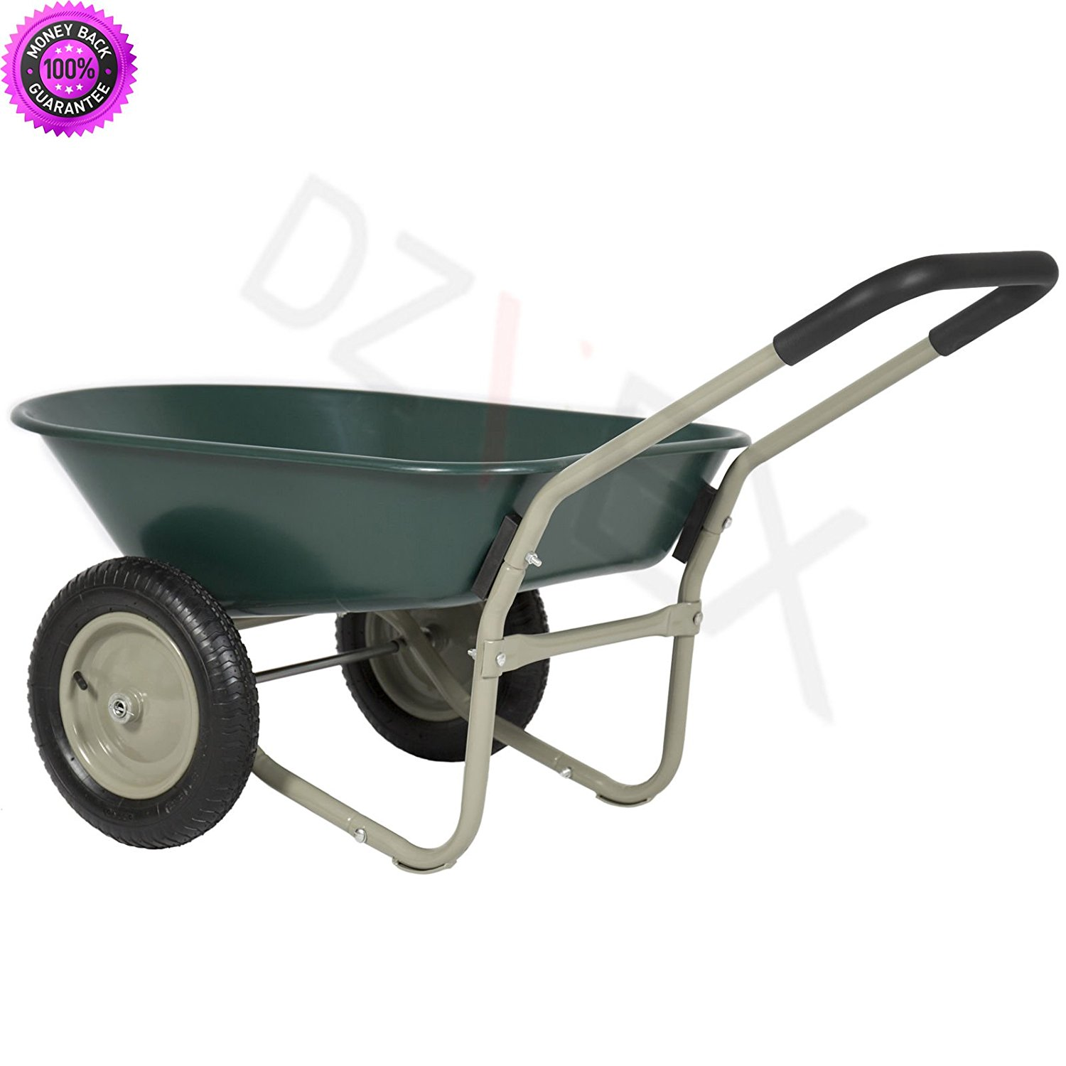 Get Quotations Dzvex Dual Wheel Home Wheelbarrow Yard Garden Cart And Tractor Supply Wheelbarrows Depot Lowes