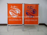 Aluminum Silver display poster poster stand