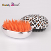 Egg shape Electroplated Colors Hair Brush Portable Detangling Hair Brush Factory