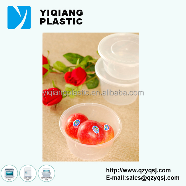 YQ-388 Disposable wholesale plastic storage containers