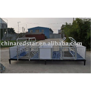 Animal n poultry husbandry Galvanized Pig Equipment Farrowing Crate