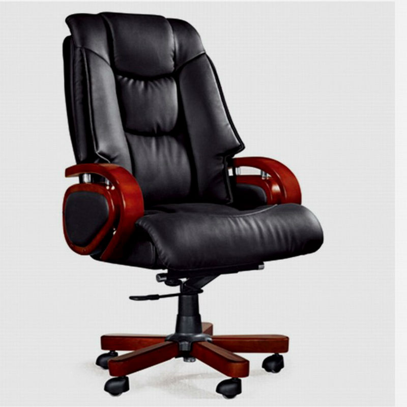 Moderna silla de oficina muebles madera 6088 sillas de for Sillas de visita para oficina