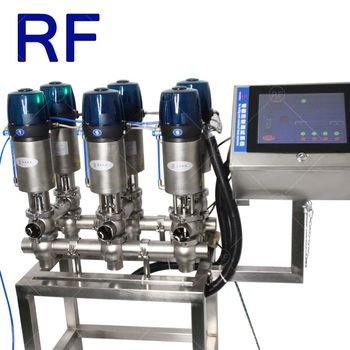 RF Pneumatic No Dead Angle Divert Seat Stop Reversing Valve With 3Million Times
