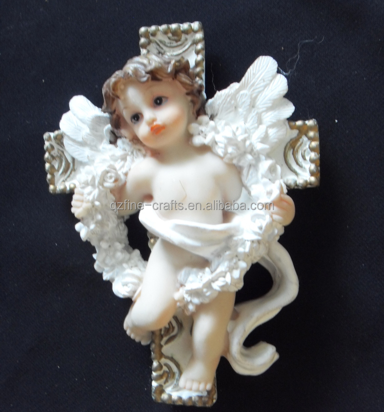 Resin angel ornament refrigerator magnets