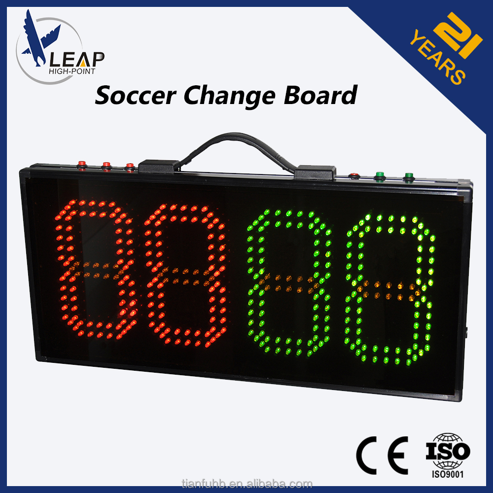 Hot Selling 4 Digits Large LED Display Football Scoreboard