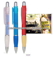 advertising plastic banner pen with logo printed