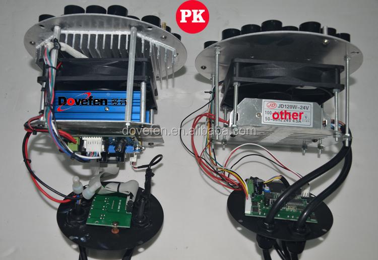 Dmx Led Par Light Can 54x3w Rbgw Led Par 64 Stage Light
