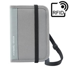 P.Travel RFID Blocking Wallet Passport Holder Cover Document Organizer