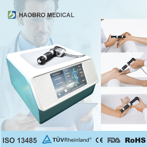 Haobro design advance technology shockwave Therapy Knee Pain / Magnetic therapy for Pain / Waist Pain Treatment