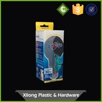 Wholesale Pvc Clear Plastic Long Rectangular Gift Bulb Packaging Box Design Oem Service