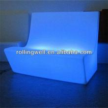 led chair / stool glowing illuminated furniture for event and hire company