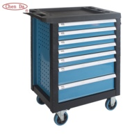 powder coating heavy duty tool box stainless steel tool chest with kraftwelle tools