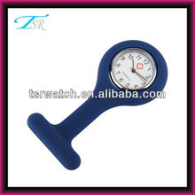 Silicone rubber wristband watch nurse hang nursing watch for sale