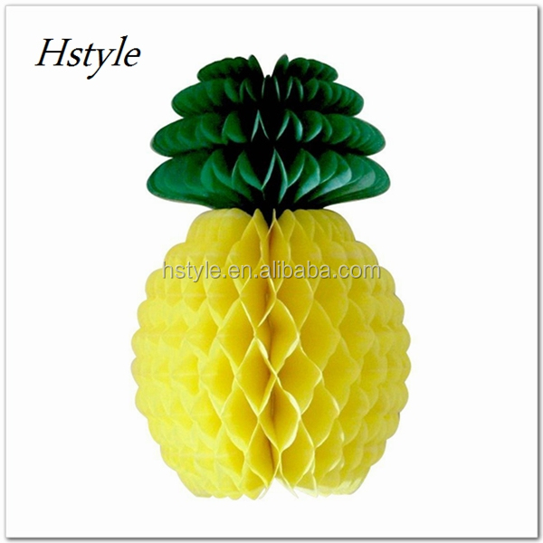Honeycomb Pineapple Party Wedding Summer Party Decoration SD084