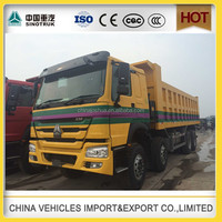 China supplier used Sinotruk howo faw tipper dump truck hard stone body