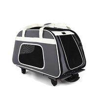 Hot Selling Wholesale Pet Carrier Travel bag, Pet Trolley transport bag manufacturer In China