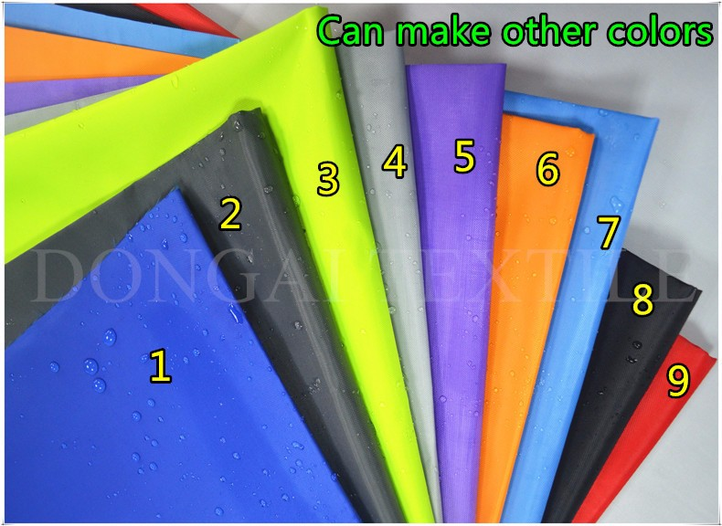300D uv silver waterproof oxford fabric for sunshade