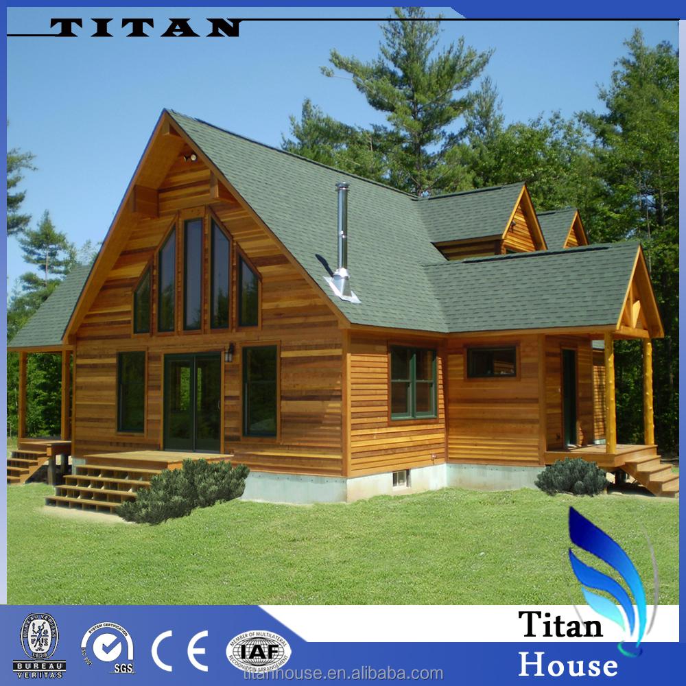 Nico estilo de casas prefabricadas verde de bamb de calidad de bajo costo casas prefabricadas - Casas prefabricadas low cost ...