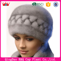 Girls Winter Warm Exclusive Russian Fur Hat Pattern