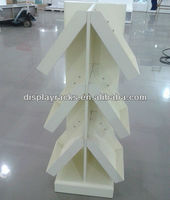 2015 customized high quality MDF umbrella display stand, store display racks