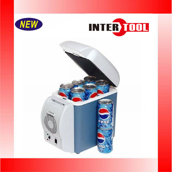 12V 7.5L Capacity Portable Car Refrigerator Cooler Warmer Truck Electric Fridge