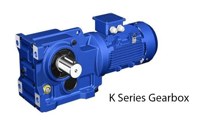 مانسون شطبة محرك موتور تروس K سلسلة الزاوية اليمنى شطبة حلزونية