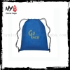 Professional nonwoven waterproof drawstring bag with low price