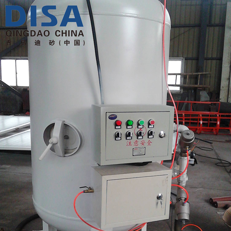 Double Gun High Pressure Machine Abrasive Sand Blasting Pot(tank)