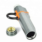Q5 LED Rechargeable USB LED Flashlight Pen Clip Pocket Torch