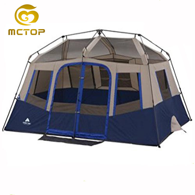 New factory sale wholesale carpas fashion modern design travel canvas waterproof outdoor equipment camping tent for family