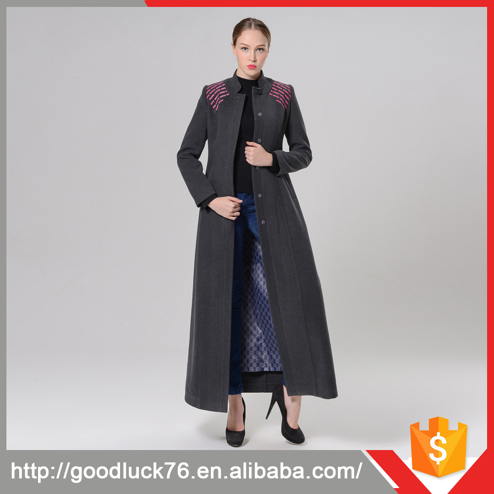 5ec05233b7253 Woman S Geometric Figure Designed Woolen Winter Coat Ladies Designer Summer  Coat