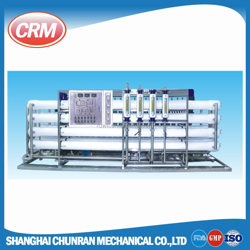 5 ton per hour river water purify machines / filter with 8040 ro membrane system