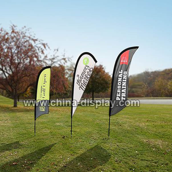 2017 Wholesale promotion digital print heat sublimation print polyester fabric outdoor flag banner printing