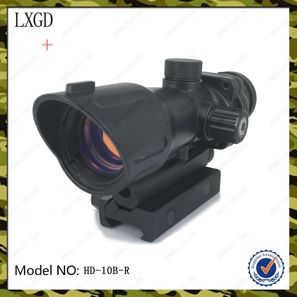 LXGD Conch type black matt best picatinny ar scope hunting Red dot sight