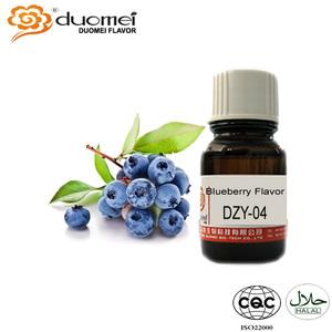 Concentrate Fruit Flavor Shisha Flavoring Liquid Blueberry Flavor