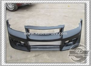 EVO 5-6 DAMD FRONT BUMPER WITH ADJUSTABLE CENTRE BLADE FRP FIBER GLASS
