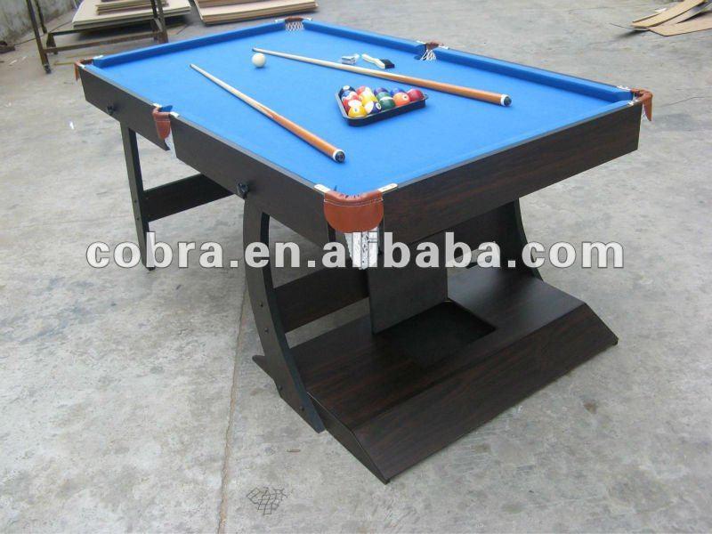 6 Foot Folding Home Pool Table/ Billiard Table/ Table Top Billiard  Equipment   Buy Foldable Pool Table,7ft Folding Billiard Table,5ft Pool  Table Product On ...