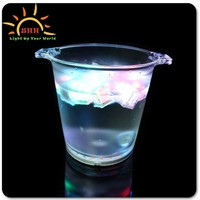 ice bucket stand lighted/galvanized ice bucket with stand/rectangular plastic bucket with lid