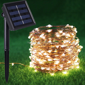 10M 20M solar powered fairy string lights outdoor