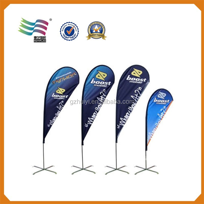 Flying Flag Banner Stand and Pole