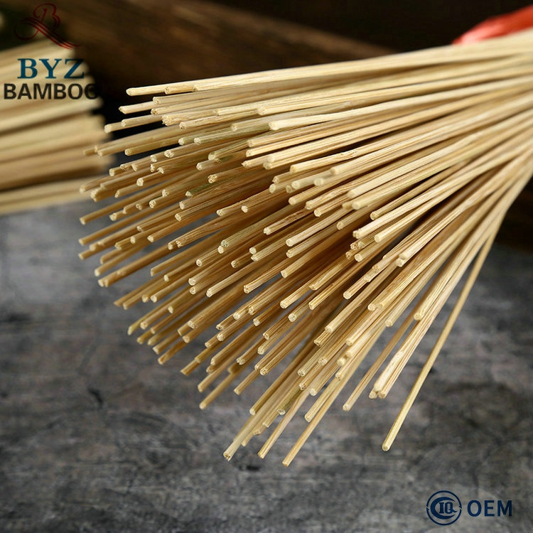 Cheap Natural Rodada Agarbatti Vara insence Vara de Bambu, Eco Friendly vara insence