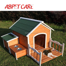 Outdoor garden dog carrier large dog house