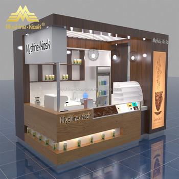 2017 New Mall Retail Kiosk Sandwich Store Design Ice Cream