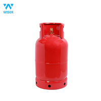12.5kg Yemen market gas cylinder hot selling with valve burner factory