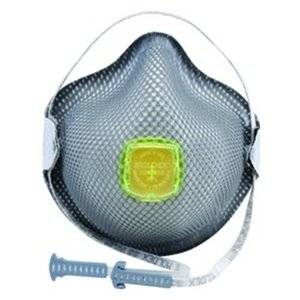 Moldex(R) Medium/Large R95 Particulate Disposable Respirator With Ventex(R) Exhalation Valve, Dura-Mesh(R) Shell And HandyStrap(R) - NIOSH 42CFR84/ANSI/ISEA 110-2003 Section 7.11 (10 Each Per Box). Sold by 10 / EA