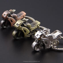 Hot Selling Items Colourful Metal Key Ring Chain Motorcycle Keyring
